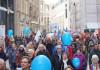 picture:  Grimmaische_Straße_mit_1_000_Teilnehmern.JPG